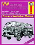 Haynes workshop manual VW Type 2 1700cc to 2000cc 1972 to 1979